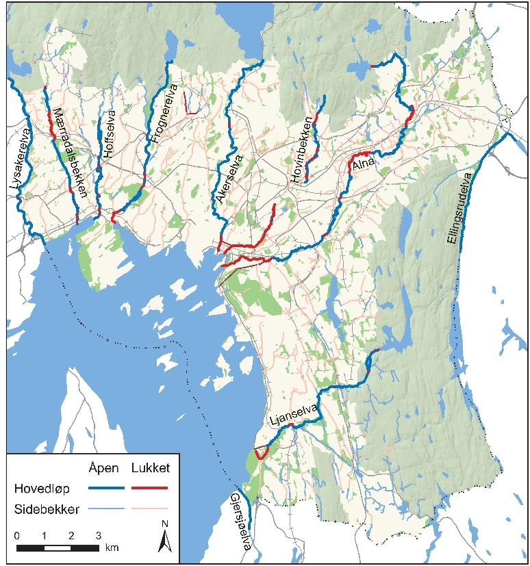 kart alnaelva Kart | Oslo Elveforum kart alnaelva