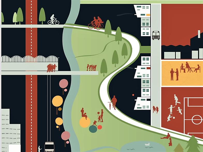 Illustrasjon planprogram Ensjø